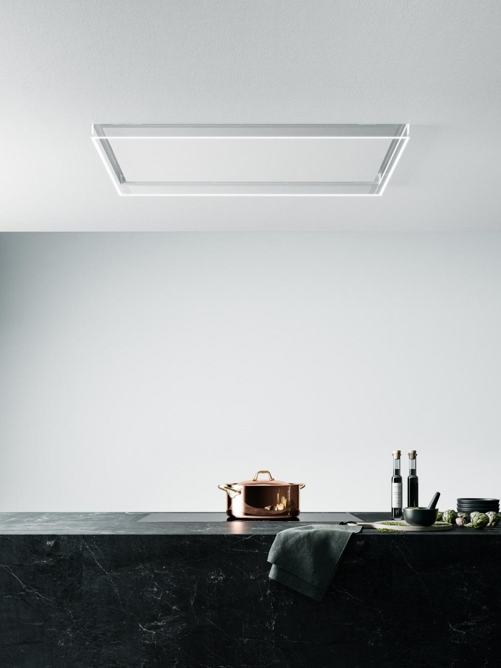 Alba garų surinkimo sistema virtuvėje