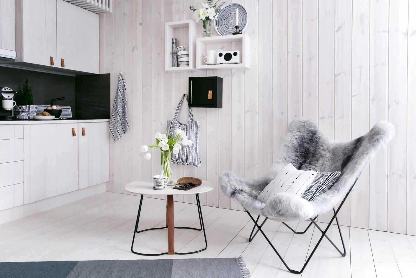 Suomiškas interjero dizainas