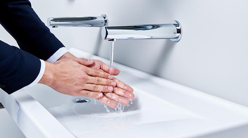 Sensoriniai vandens maišytuvai