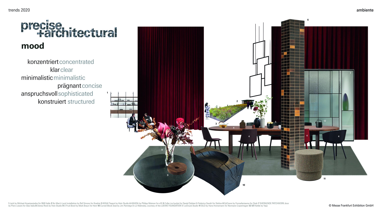 Parodos Ambiente2020 tendencijos: Tikslumas ir architektūriniai netikėtumai