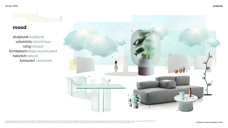 Parodos Ambiente2020 tendencijos: Formos ir minkštumas