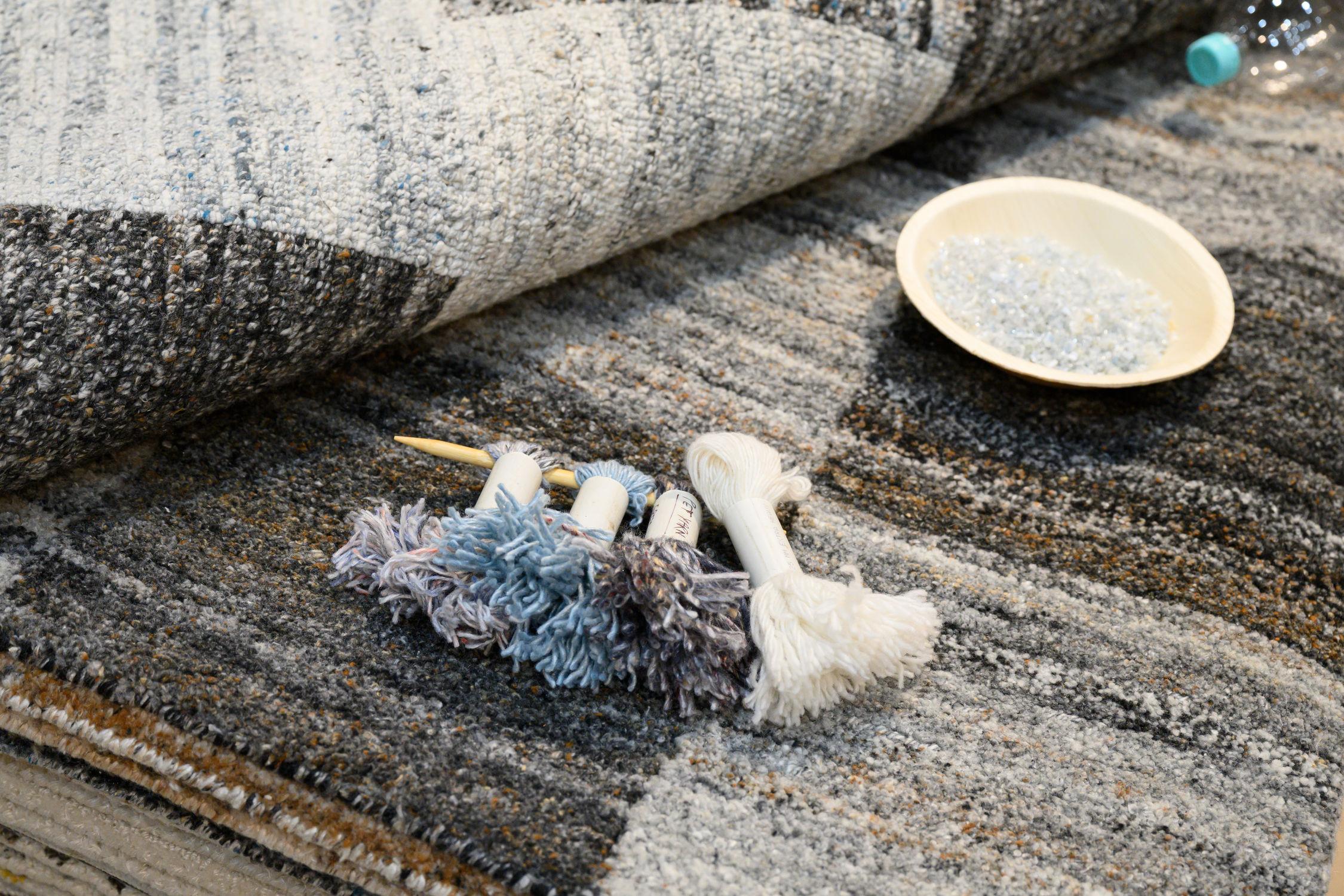 kilimai iš aukštos kokybės sintetinių pluoštų