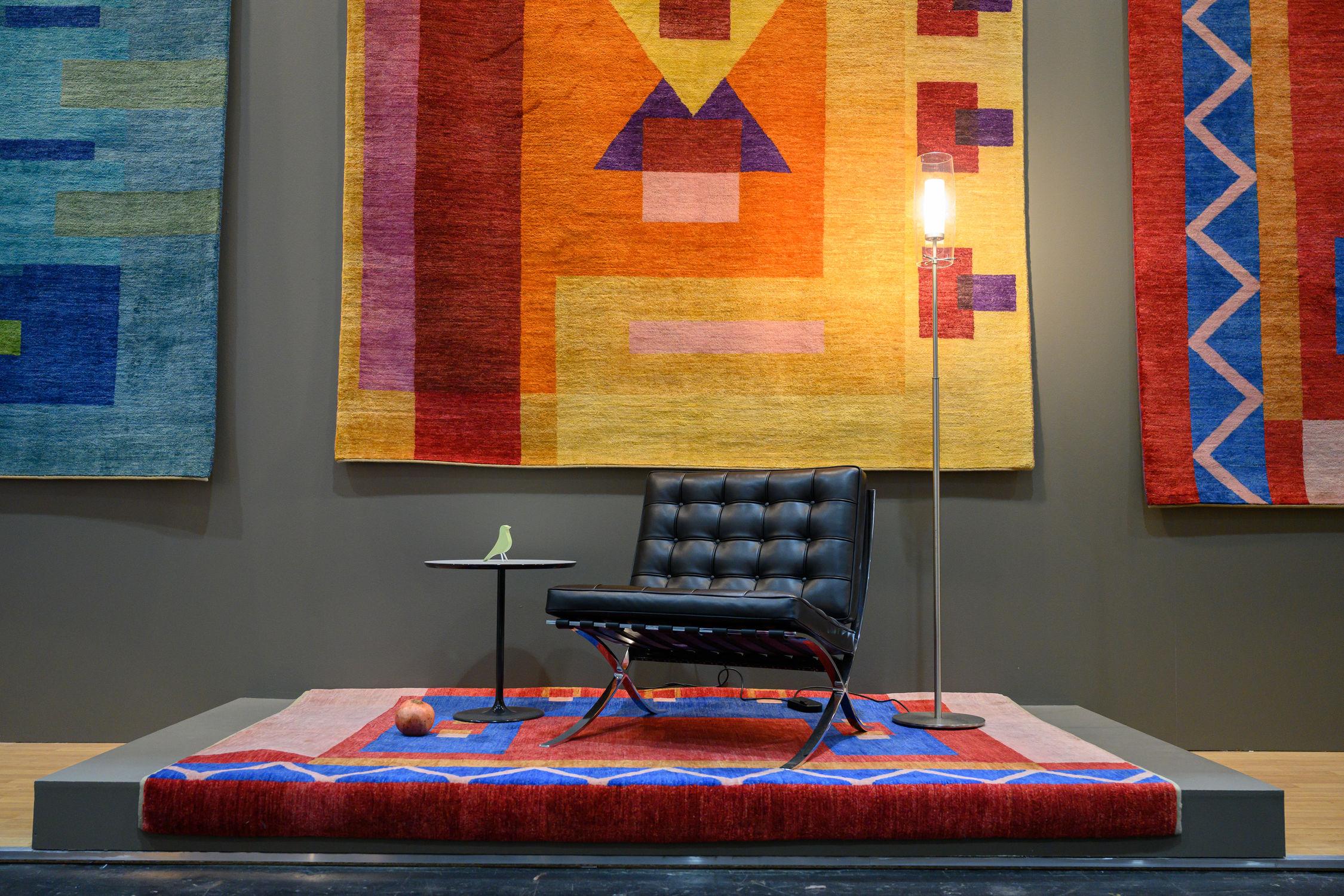 kilimų spalvos