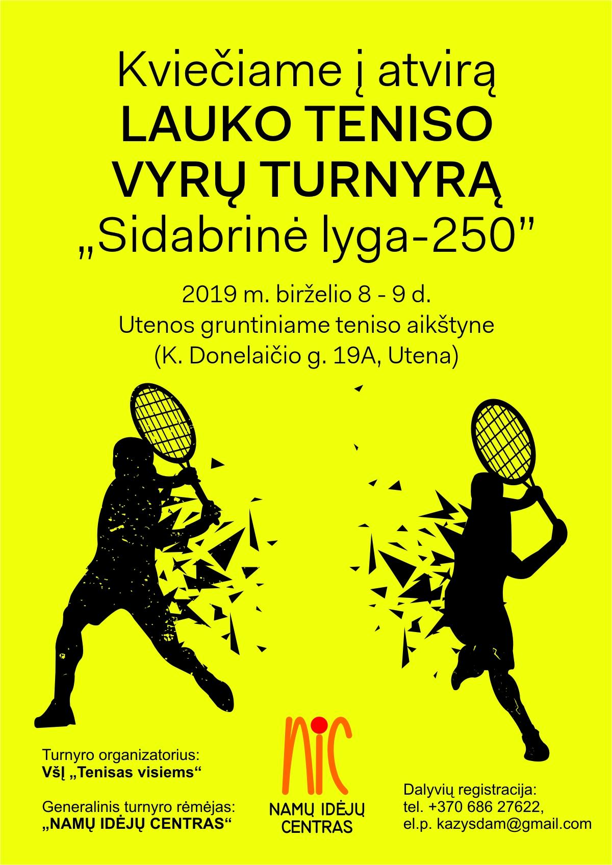 tenisas visiems