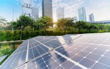 saulės elektrinės moduliai