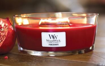 namų kvapo žvakė Woodwick