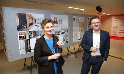 """konkurso """"Mano erdvė'2019"""" geriausių interjerų paroda NIC centre"""