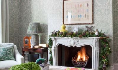 kalėdinis namų dekoravimas